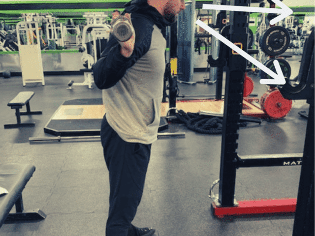 Where Should I Look When Squatting?