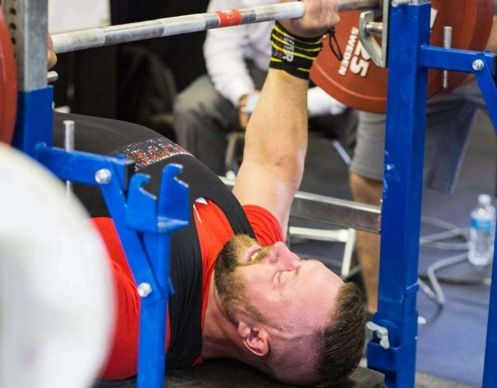 3 times a week bench press