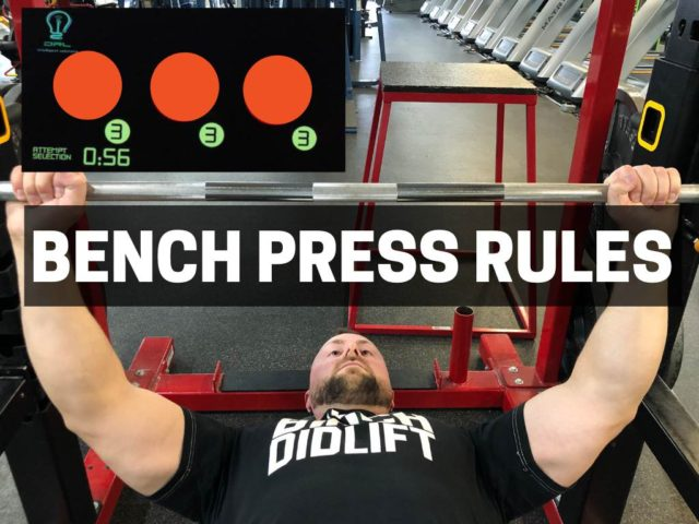 Powerlifting Rules For Bench Press (Complete Guide)