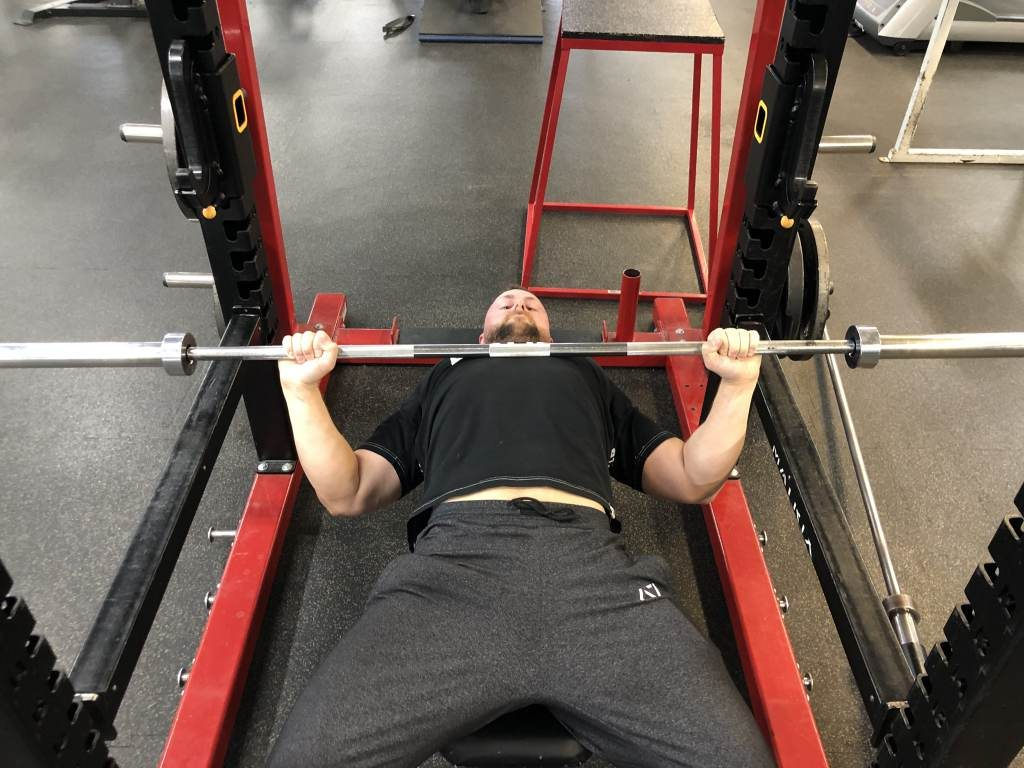 Press command for bench press rules