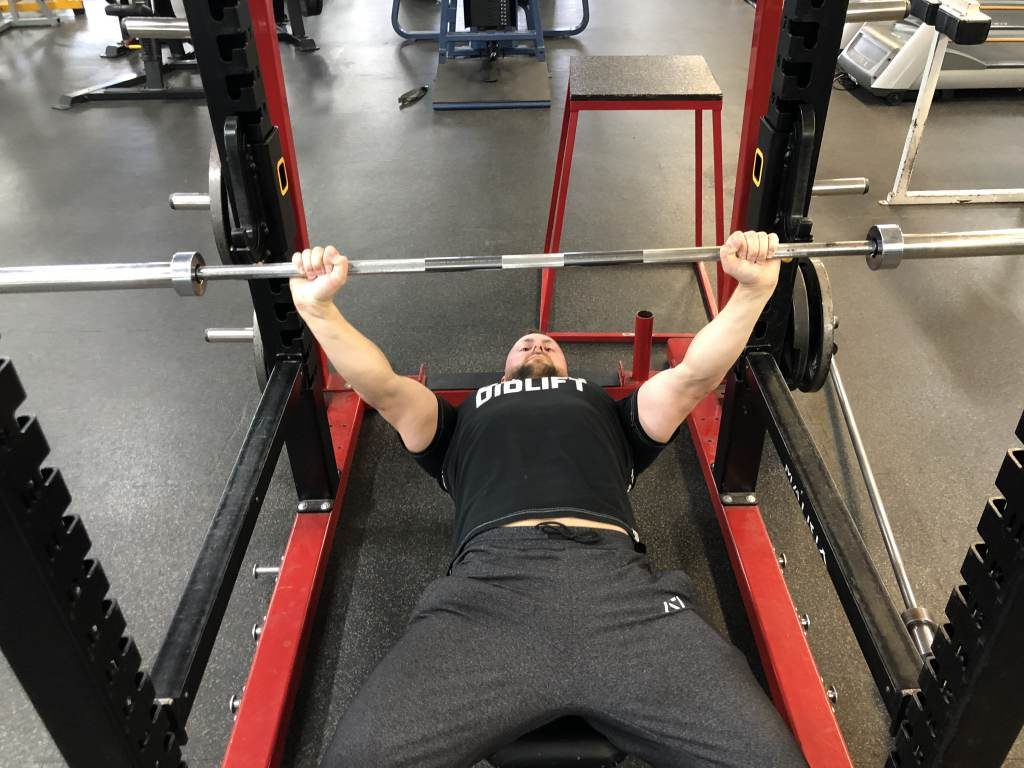 Start command for bench press rules