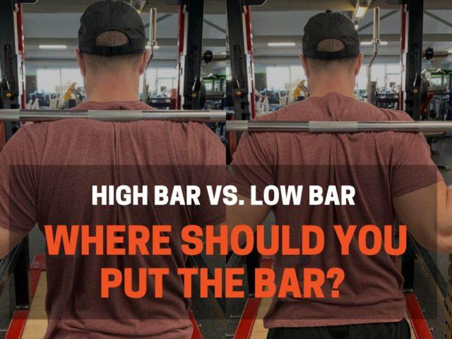 Where Should I Put The Bar When Squatting?