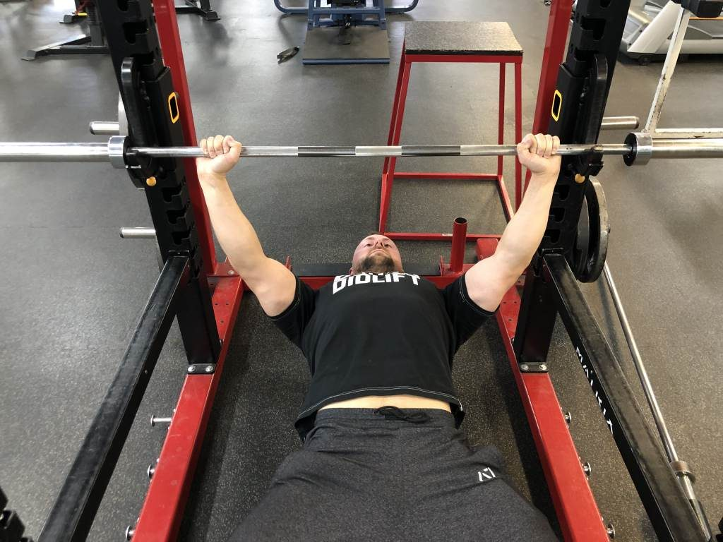 Rack commands for bench press rules