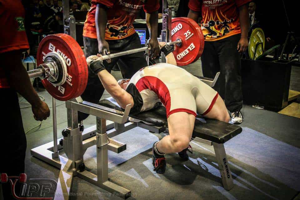 cheating the bench press rules