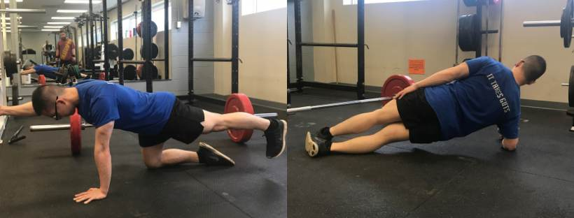 Exercises to help keep the back straight while deadlifting