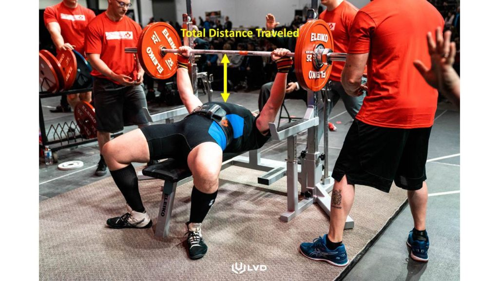 BENCH PRESSING WITH LONG ARMS