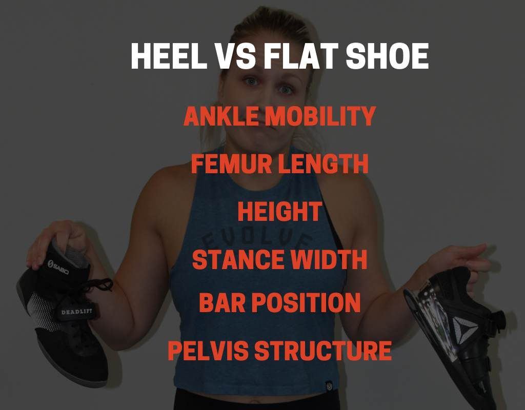 HEEL VS FLAT SHOES