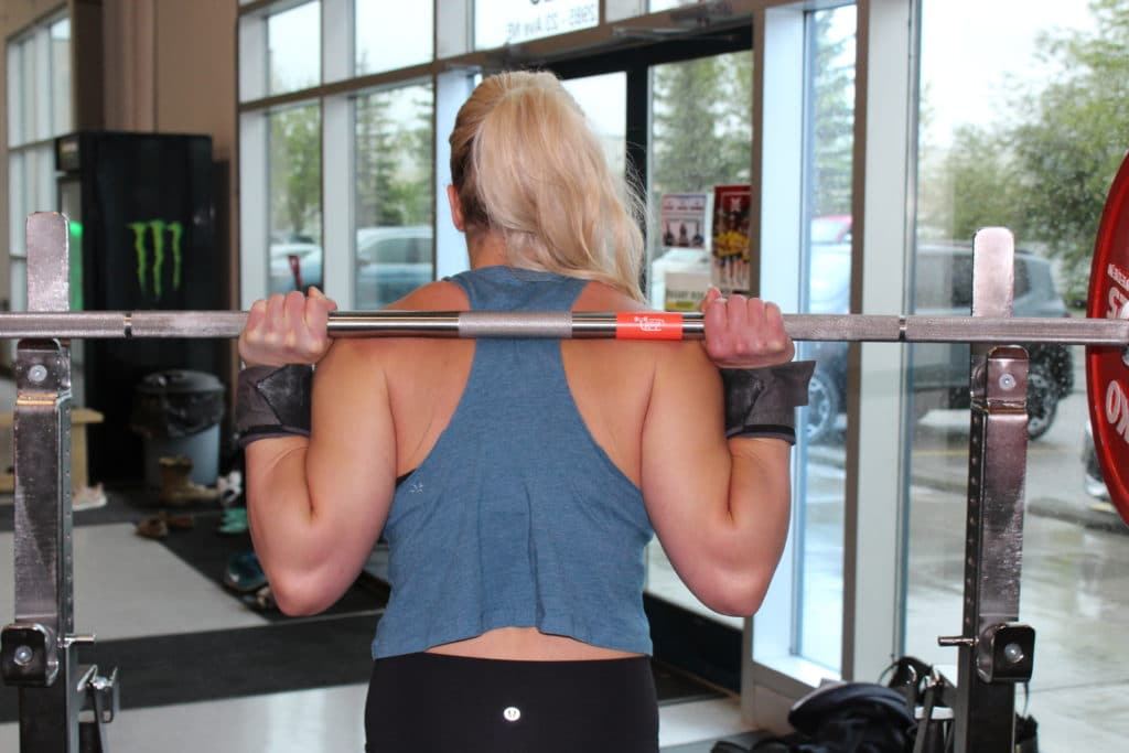 low bar back squat muscles