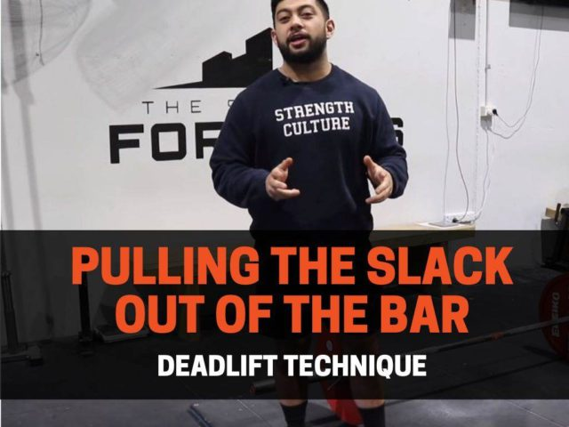 Deadlift Technique: Pulling The Slack Out Of The Bar