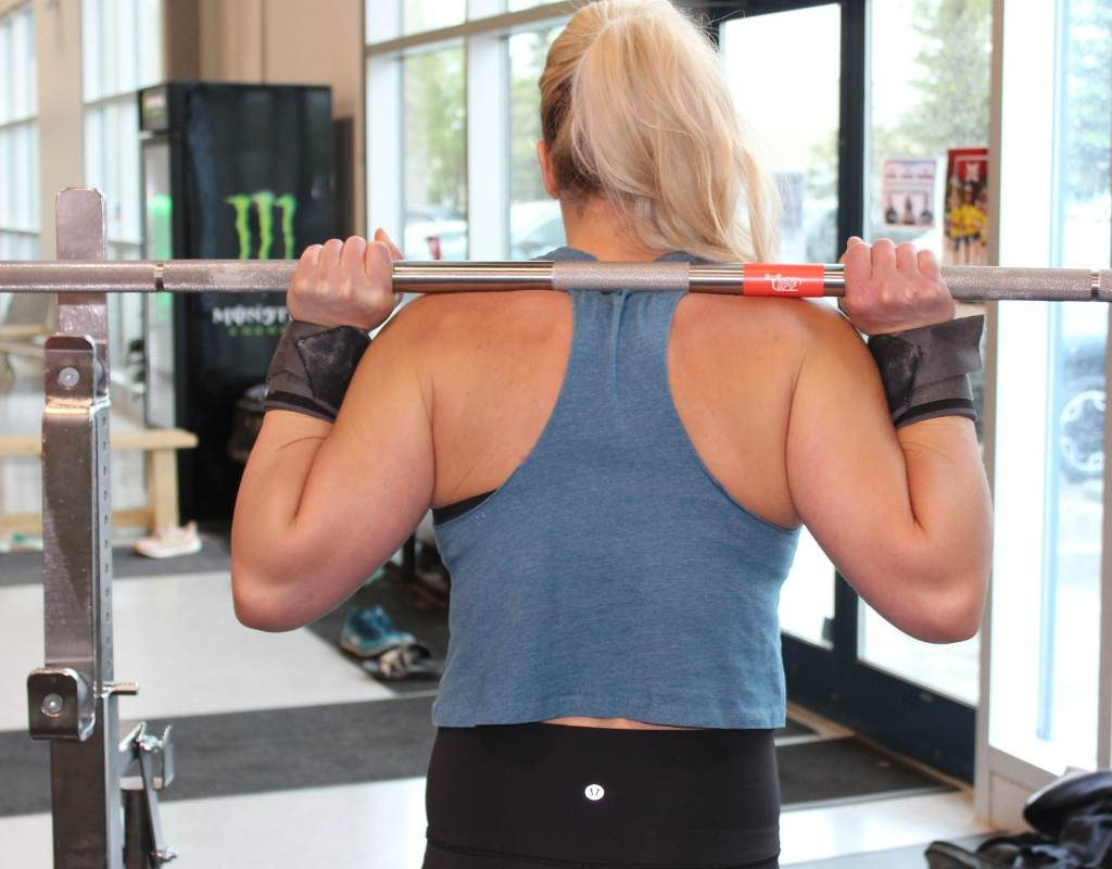 high bar back squat muscles