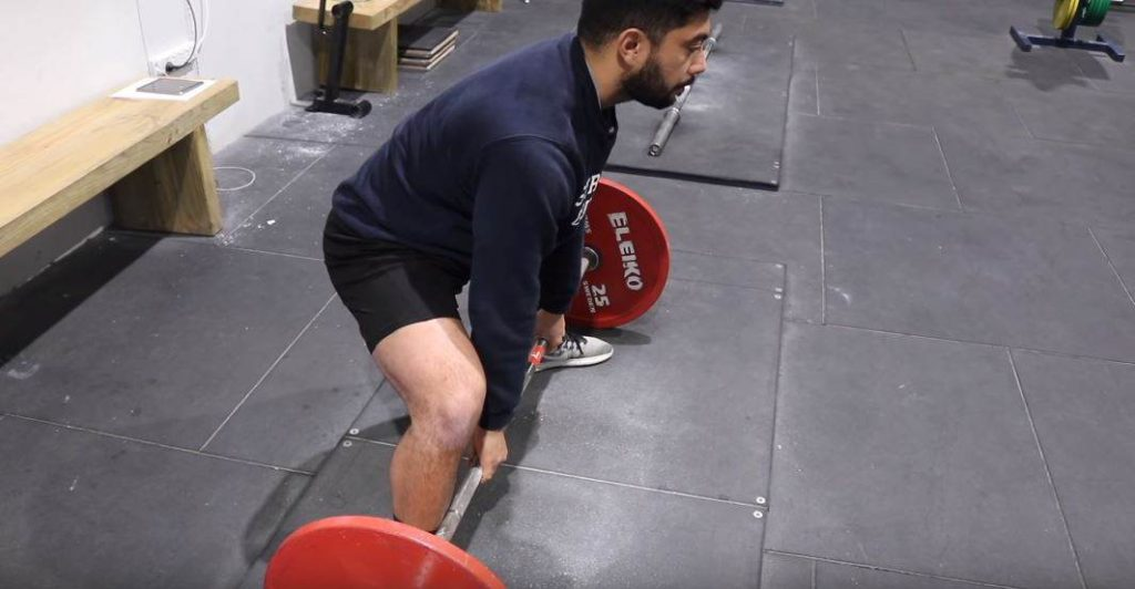 taking the slack out of the barbell