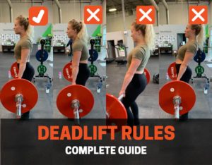 powerlifting rules for deadlift