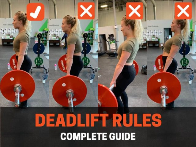 Powerlifting Rules For Deadlift (Complete Guide)