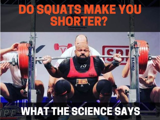 Do Squats Make You Shorter?  (What The Science Says)