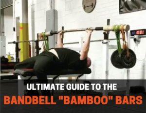Bandbell bamboo barbells