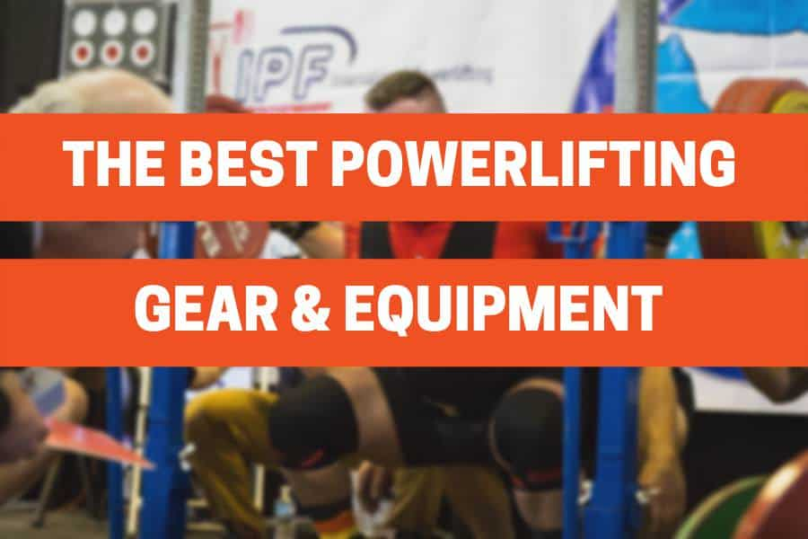 powerlifting gear and equipment