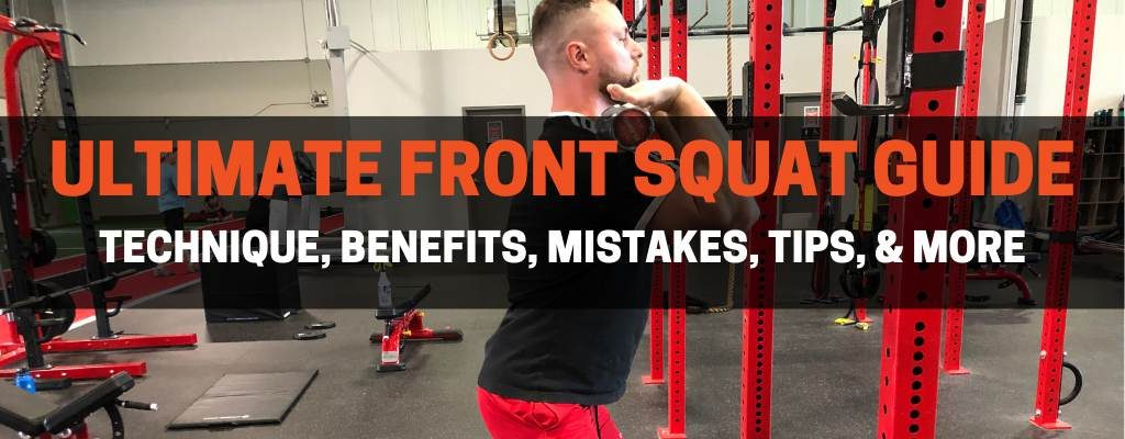 Front squat exercise guide