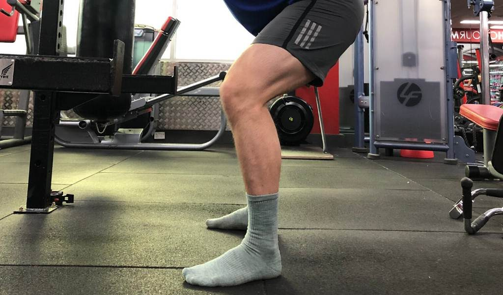 Training without shoes helps self-correct form