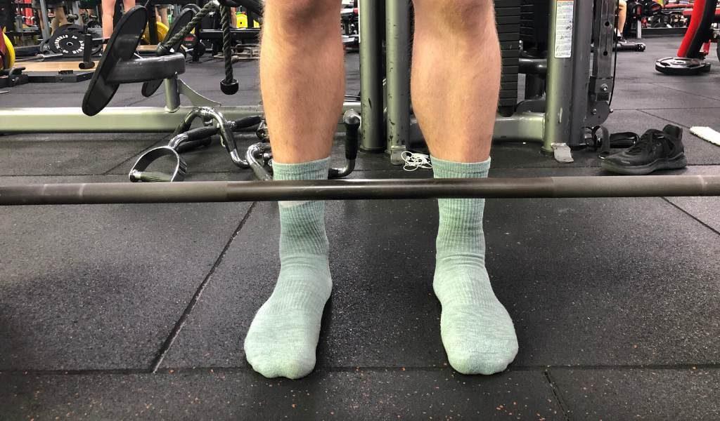 Barefoot lifting