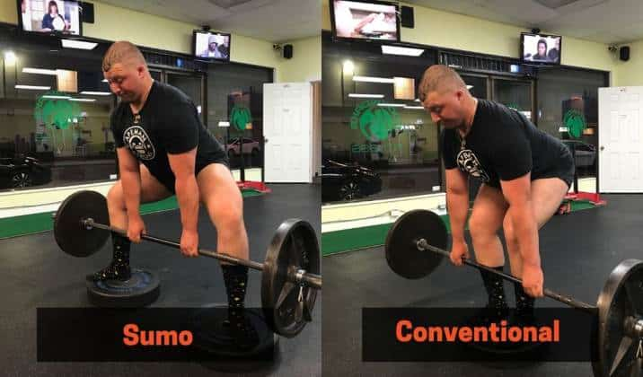 You can do deficit deadlifts both sumo or conventional