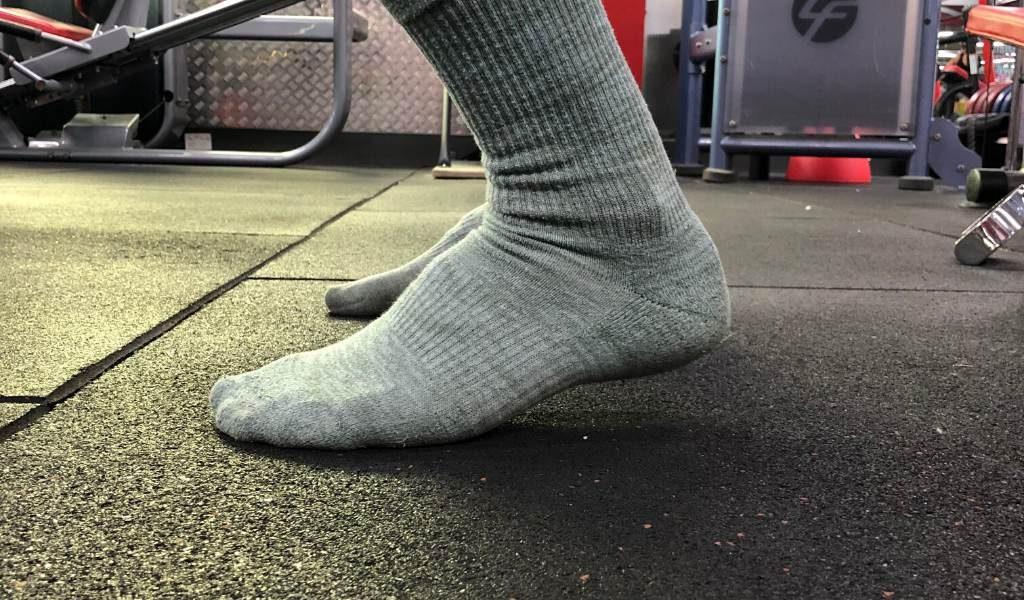 Heels coming up