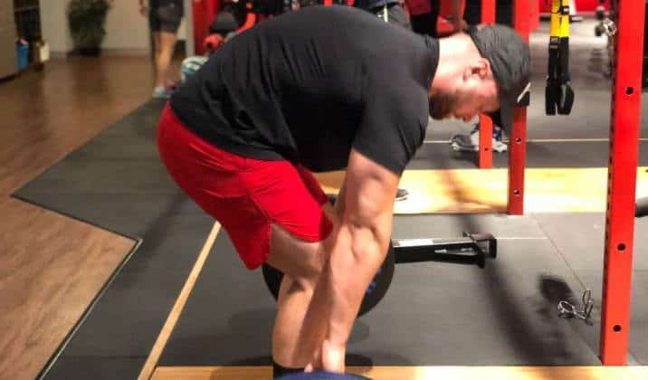 Low back strength is critical in deficit deadlifts
