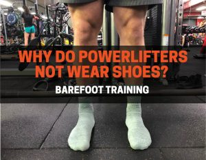 lifting weights without shoes