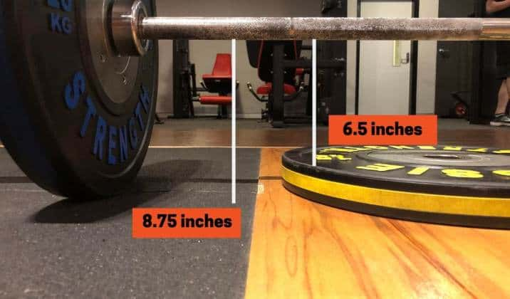 Comparing pulling from the floor vs pullling from a deficit