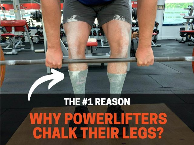 Why Do Powerlifters Chalk Their Legs? (It's Not Actually Chalk)