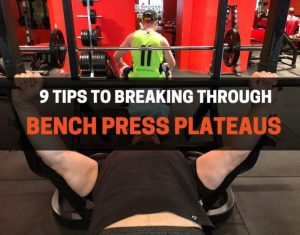 Bench press plateaus