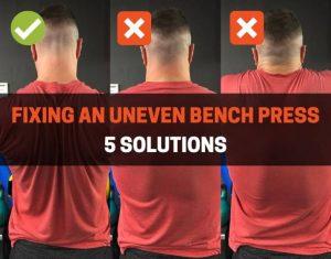uneven bench press
