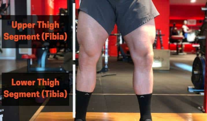 Different limb segments will make Asian squats harder or easier