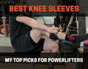 best knee sleeves for powerlifting