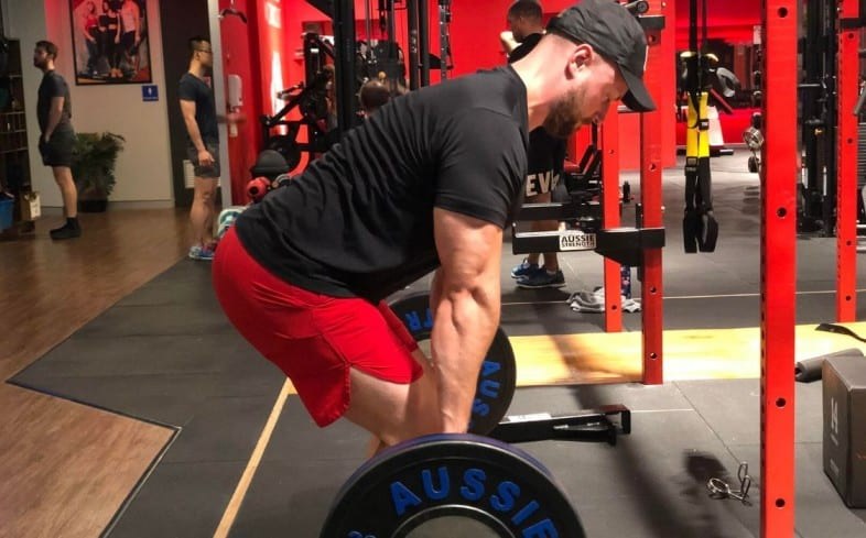 The pause deadlift is where you stop the bar somewhere within the range of motion for 1-2 seconds.