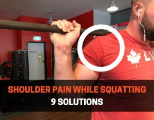 HOW TO FIX SHOULDER PAIN WHILE SQUATTING