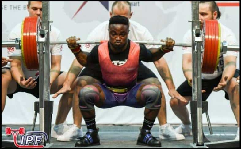 Which knee sleeves are approved for powerlifting competition