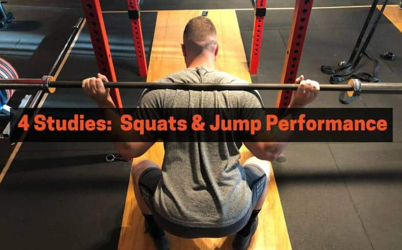 Squatting and jump performance