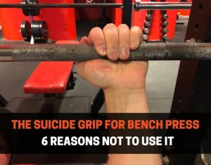 SUICIDE GRIP FOR BENCH PRESS
