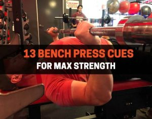 bench press cues
