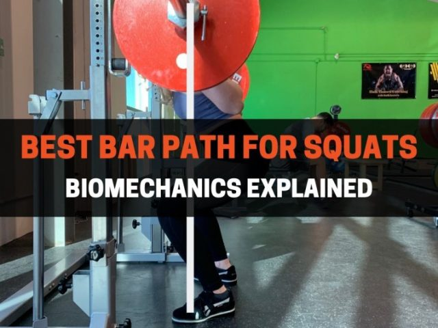 What Is The Best Bar Path For Squats? (Science-Backed)