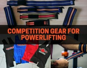 competition gear for powerlifting