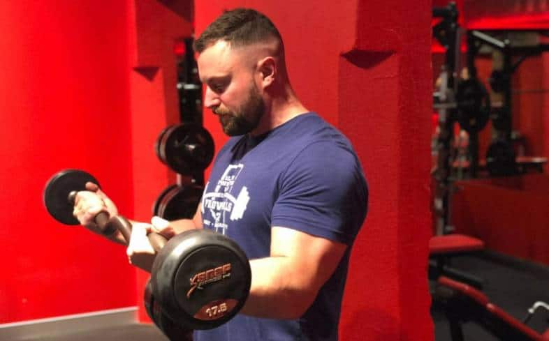 Beefits of training arms for powerlifting