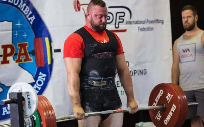 how do powerlifting meets work: third deadlift changes