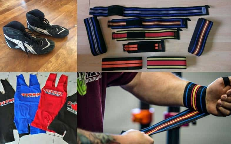 how do powerlifting meets work: equipment check