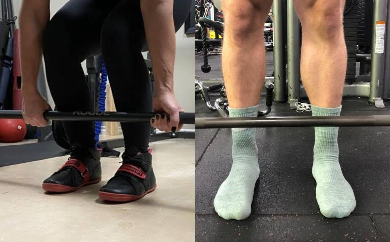 Deadlift Shoe Versus Deadlifting Barefoot