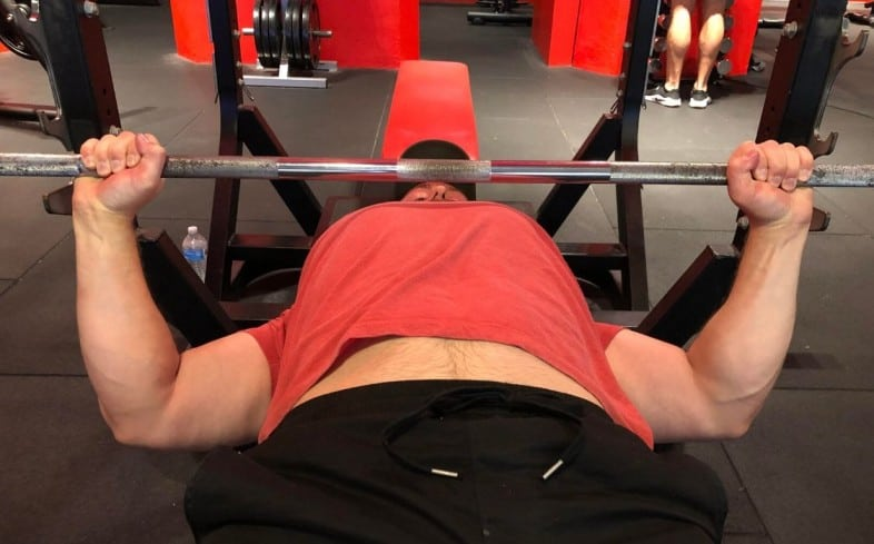 Training shoulders can increase strength in bench press