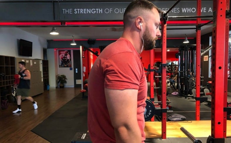 If you train shoulders as a powerlifter you can prevent rouded shoulders in the deadlift