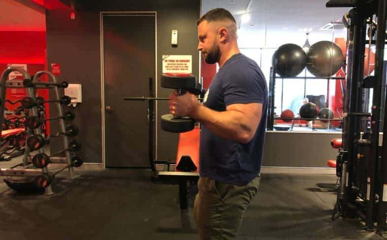 Tips on training arms for powerlifting