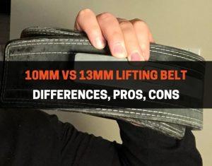 10mm vs 13mm belt