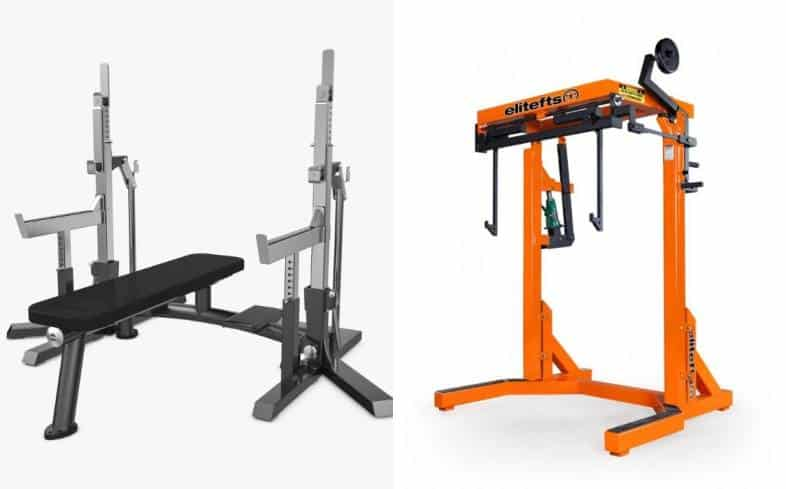 powerlifting federations use different equipment